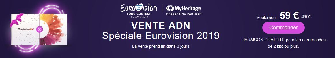 myheritage test adn eurovison